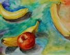 Яблоки потеснят бананы на украинском рынке