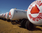 Ammonia increases in price