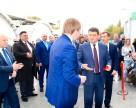 Владимир Гройсман принял участие в открытии завода пестицидов в Белой Церкви