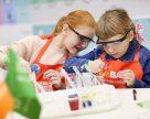 BASF открыла уникальную химическую лабораторию для детей в Украине
