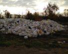 Городище закидали тарою з-під засобів захисту рослин