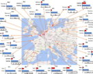 Більше 100 пестицидів забруднюють водні шляхи Європи