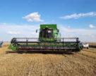 В Запорожской области скошено и обмолочено ранние зерновые и зернобобовые культуры на площади 47 тыс. га
