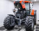 Чеські трактори проходять ретельні випробування на морозостійкість.